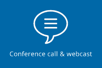 Conference call & webcast